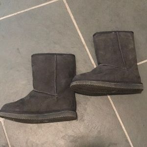 Harper Canyon Girls Fuzzy Boots Sz 11